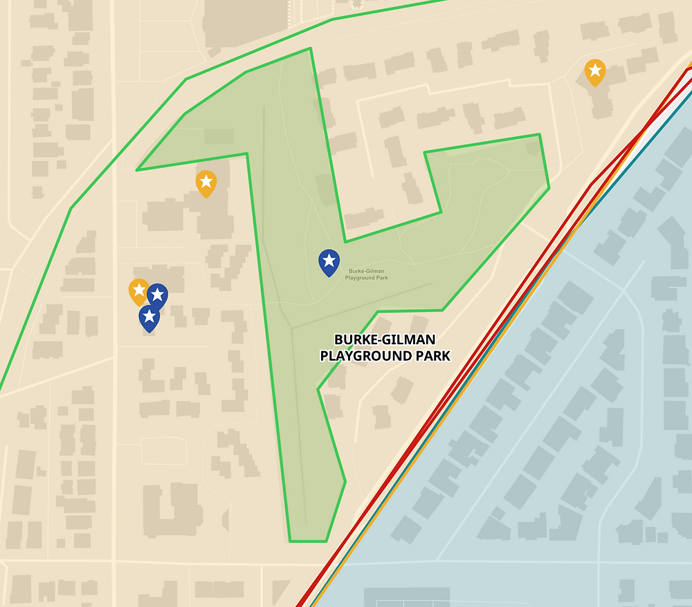 Map of park location