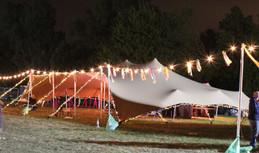 18x12m stretch tent festival bar