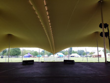 18x24m (18x12s joined) stretch tent festival