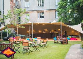 10x15m stretch tent Oxford Uni ball