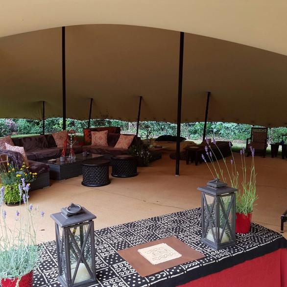18x12m stretch tent