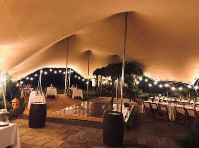 18x12m stretch tent wedding