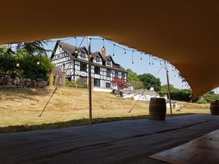 10x15m stretch tent wedding