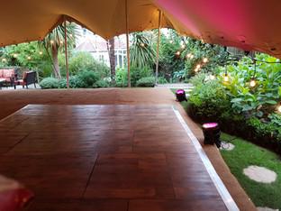 10x15m stretch tent anniversary