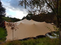 18x12m stretch tent joint birthdays