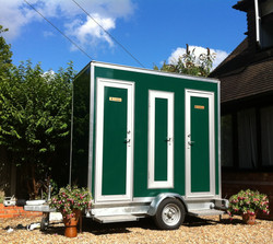 Compact Toilet Trailer 1+1 (100 guests)