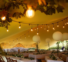 20x15m stretch tent wedding