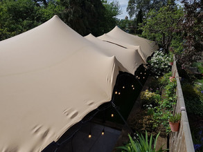 6x16m (2x 6x8s joined) stretch tent wedding