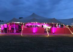 20x15m stretch tent 21st and charity event