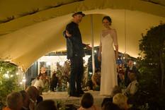 6x8m + 6x8m + 7x9m stretch tents wedding