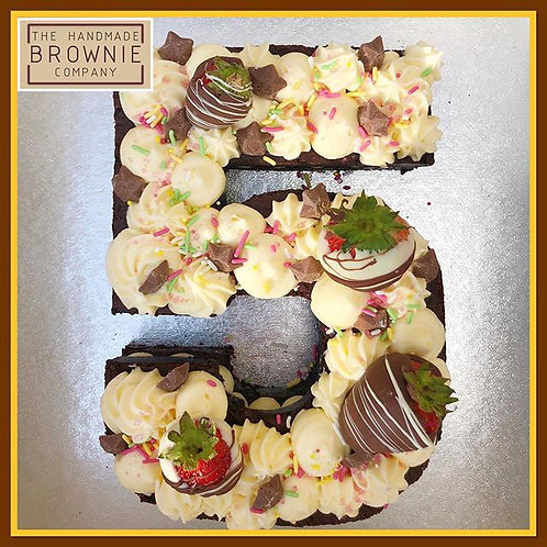 Number Cakes From £32 Collection Only
