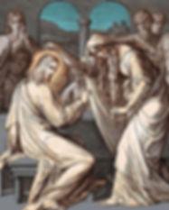 Mary Magdalene Anoints Jesus. _#mariamad