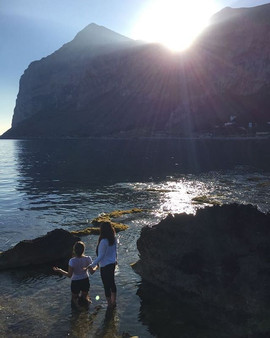 Baptizing in the Mediterranean Sea, in Palermo Italy last year 2017 days before Easter..jpg