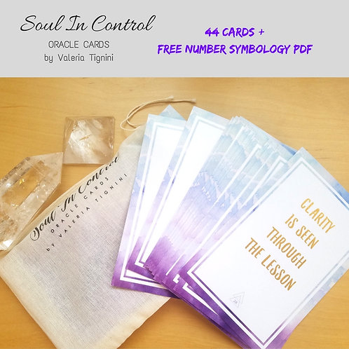 Soul in Control Oracle Cards