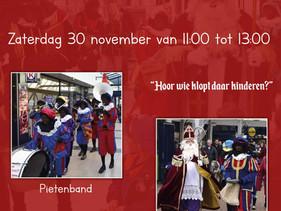 Ook dit jaar weer Sinterklaas op Winkelcentrum Maaswijk!