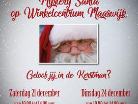 Mystery Santa op Winkelcentrum Maaswijk...