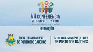 Porto dos Gaúchos Promoverá a VII Conferência Municipal de Saúde e convoca a população