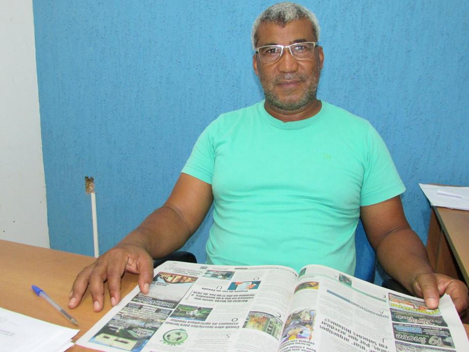 Coronel Sebastião Pereira - Secretário Municipal de Cidade no Municipio de Juara MT, Crédito Foto: Elizangela Trindade