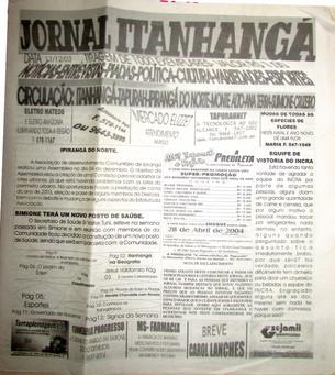 Jornal A Folha do Vale tem suas Raízes na História de Itanhangá