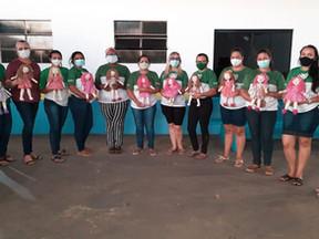 Senar capacita 10 alunas em Novo Horizonte do Norte com Curso de Confecção de Bonecas