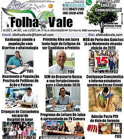 Ed.117 do Jornal A Folha do Vale Miniatu