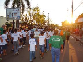 Munícipes Porto Gauchenses se mobilizam em Passeio Cívico no dia 07 de Setembro