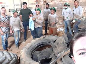 Secretaria de Saúde faz destinação adequada à pneus inservíveis