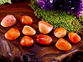 Significado de Pedras e Cristais Cornalina Laranja