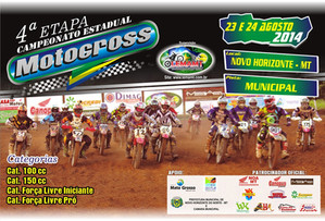 Novo H. do Norte sedia 4ª etapa do Campeonato de Motocross