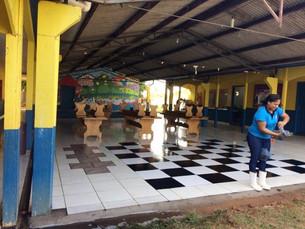 Escola Municipal Cecilia Meireles, de Itanhangá, recebe reforma criativa