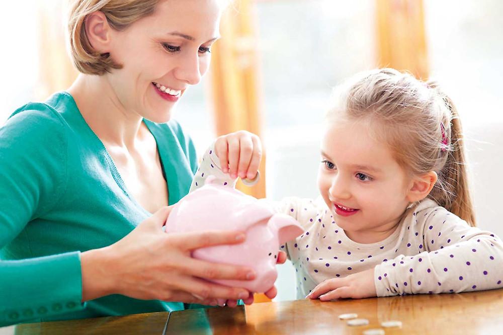 Pais ensinam aos filhos a reunir energia da prosperidade e aundância para investirem naquilo que lhes desperta Paixão