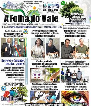 P.01 DA ED.129 DO JORNAL A FOLHA DO VALE