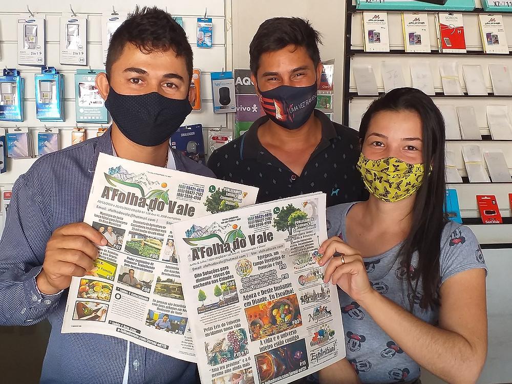 Comentários a Parte... Esta Equipe aqui,ou ao menos o Vanderlei e a Thais atuam na Vip Cell em Novo Horizonte do Norte.
