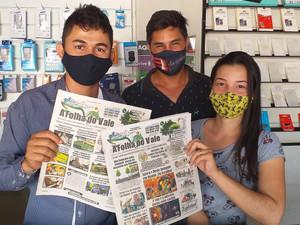 Novo Horizonte do Norte tem raízes, tem estrutura, profissionais e leitores do jornal