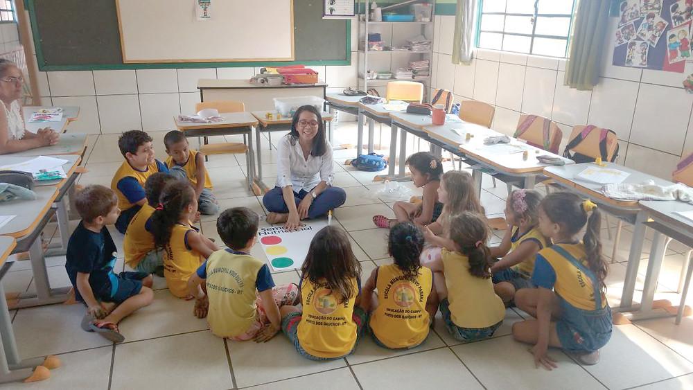 Educação Nutricional em Porto dos Gaúchos