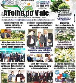 P.01 DA ED.126 DO JORNAL A FOLHA DO VALE