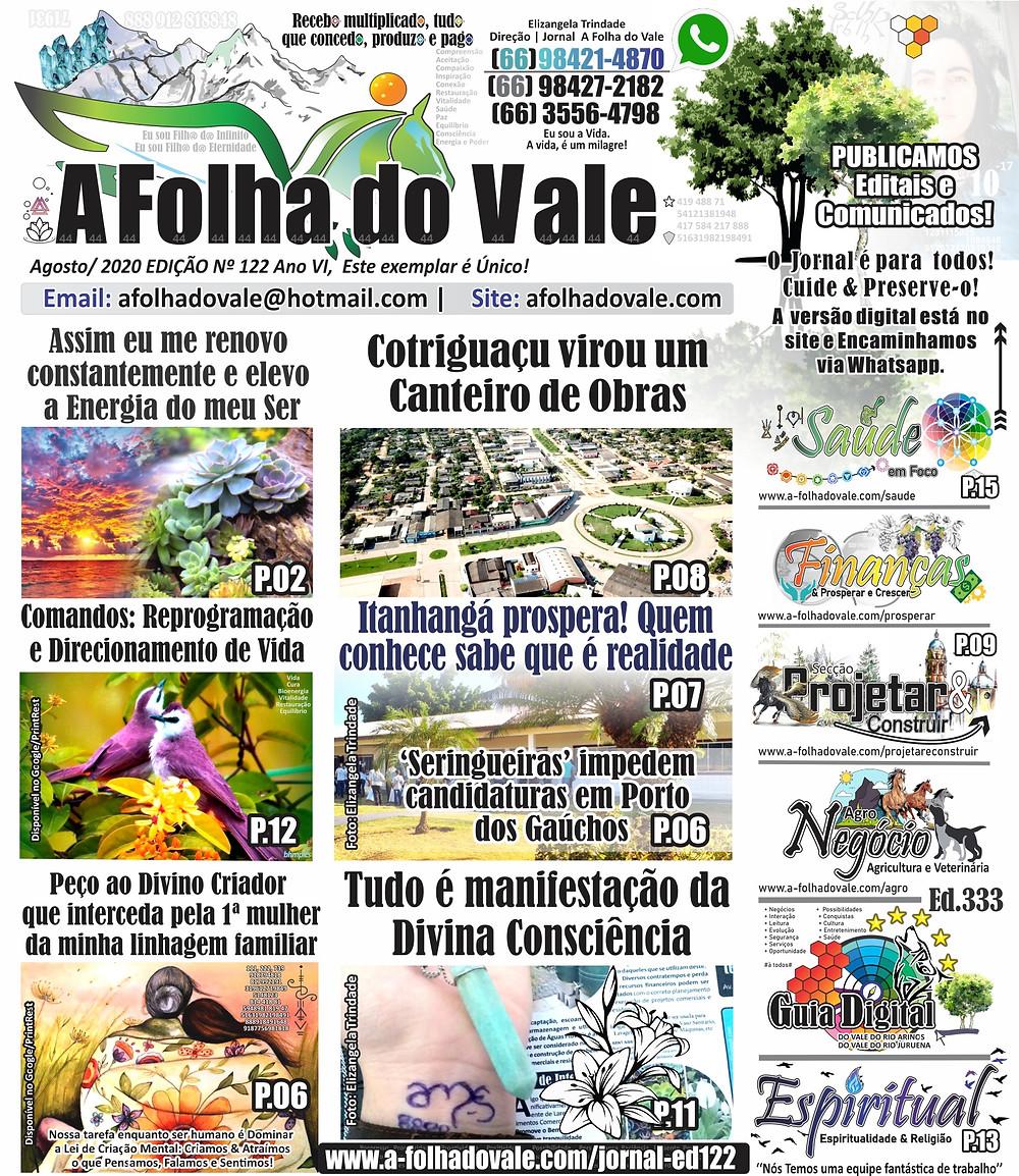 P.01 da Ed. 122 do Jornal A Folha do Vale