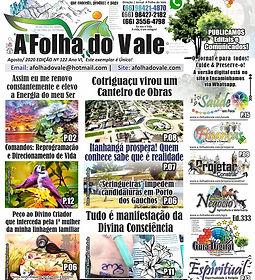 P.01 DA ED. 122 DO JORNAL A FOLHA DO VAL