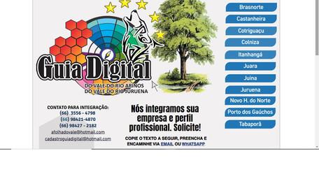 Esta ativa o período de integração das empresas em Atividade em Juara no Guia Digital do Município