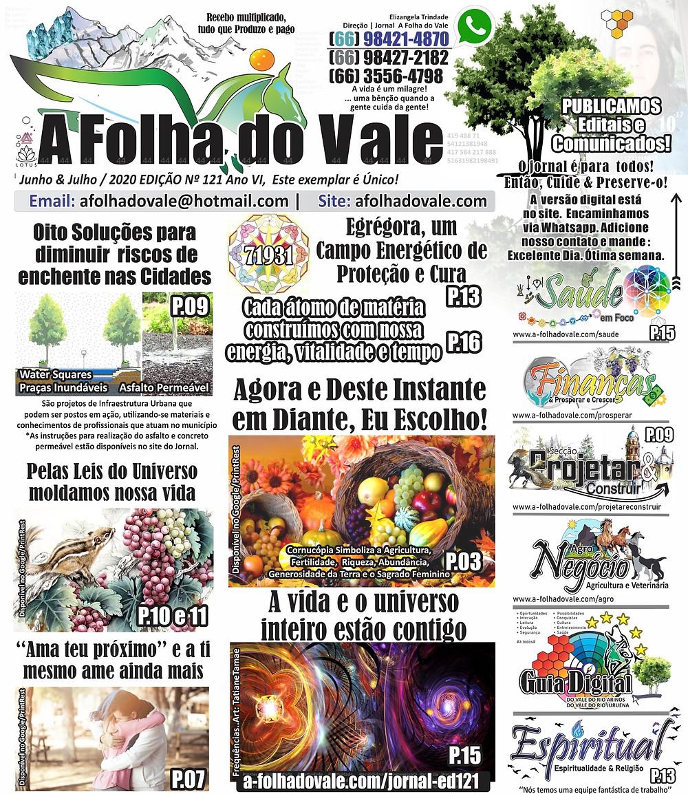 P.01 da Ed. 121 do Jornal A Folha do Vale