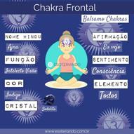CHAKRA FRONTAL: Intuição, Clareza mental, Memória e Criatividade