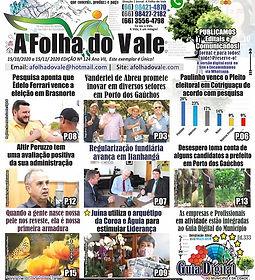 P.01 DA ED.124 DO JORNAL A FOLHA DO VALE