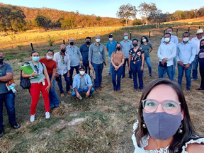 Agricultura: Nicoli e Olivia participam de Oficina do Titula Brasil