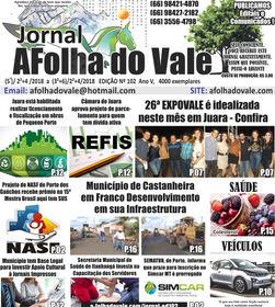 ED.102 P.01 Jornal A Folha do Vale Minia