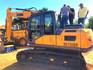 Escavadeira Hidráulica reforça setor de máquinas da Prefeitura de Castanheira