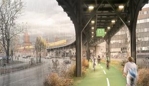 Alemanha lança projeto de ciclovia coberta