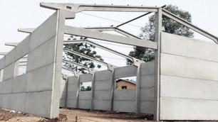 Pré-moldados e pré-fabricados  são opções rápidas para construir