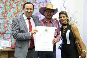 Vereador de Município do Vale do Juruena recebe Titulo de Cidadão Mato-Grossense