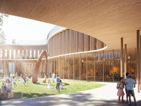 Arquiteto Propõe Uma Escola Na Árvore que Imagina a Aprendizagem em um Mundo Pós-COVID
