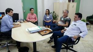 Prefeitos se reúnem com diretor do Dnit para discutir sobre pavimentação da BR 174 trecho Castanheir
